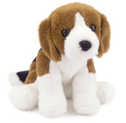 All Seven @ New Arrival Mini Pups Sniff Beagle Dog Plush Stuffed Animal 5