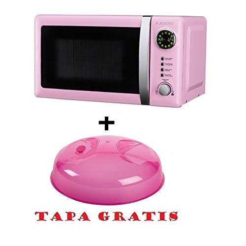 Microondas Jocel JMO001320, 20 L, 700 W, Rosa+ tapa para micro gratis