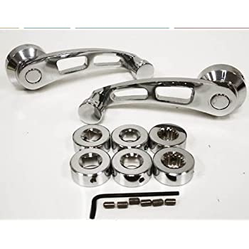 Amazon Com Chrome Billet Aluminum Window Crank Kit