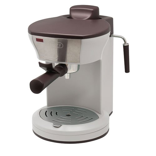 LADONNA Toffy Home Espresso Machine K-CM3-AW (ASH WHITE)【Japan Domestic genuine products】 by LADONNA