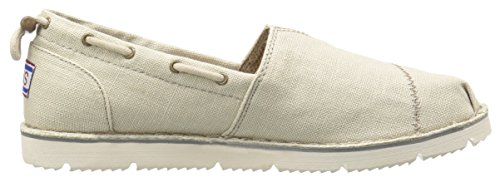 nbsp;B Skechers US Fancy Natural M Shoe Boat Flex Me 7 Chill Luxe Marrone Oxp8rOFw