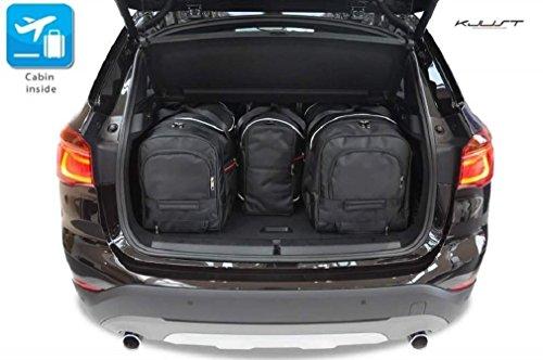 AUTO-TASCHEN MASSTASCHEN ROLLENTASCHEN BMW X1, II, 2015- CAR BAGS - KJUST