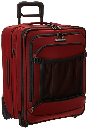 Upright Roller Luggage (Briggs & Riley International Carry-On Expandable Wide-Body Upright, Crimson, One Size)