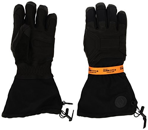 - Black Diamond Men's Guide Gloves, Black, X-Large