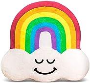 Good Banana Rainbow Floor Floatie, Kids' Round Floor Pillow Seating, Soft Comfortable Cushion, Inflatable Seat