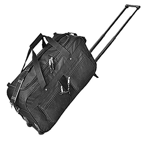 Explorer Luggage Travel Gear Duffel Bag, Black, 22