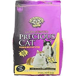 Precious Cat Ultra Scented Scoopable Hard Clumping Cat Litter, 20 lb