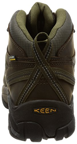 Keen Mid Men's Shoe Dark Olive Targhee Canteen Waterproof II Hiking rRrOxPw