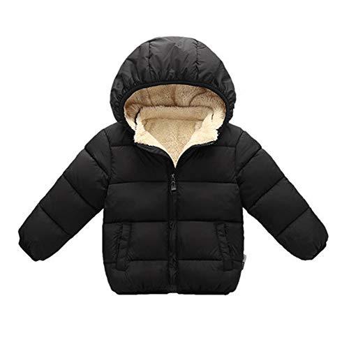 Toddler Baby Hooded Down Jacket Boys Girls Kids Thicken Warm Winter Coat Outerwear 3-4t ()