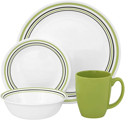 green corelle dishes - 1