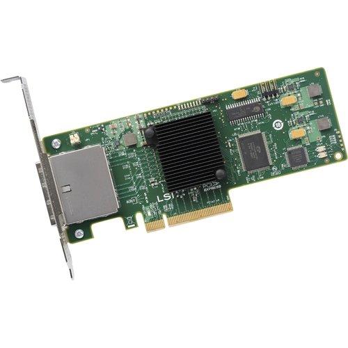 SAS9200-8E 8PORT Ext 6GB Sata+sas Pcie 2.0 by LSI Logic