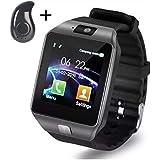 Relógio Celular Smartwatch 2018 + Brinde Fone Bluetooth Dz09 Chip Câmera