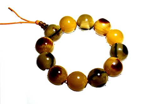 Horn Bone Beads - 6