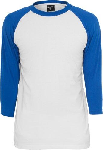 Urban Classics Herren Bekleidung T-shirt Gr. Small,  - Wht/Blu