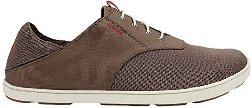 OLUKAI Men's Nohea Moku Shoes Rock/Mustang 9.5