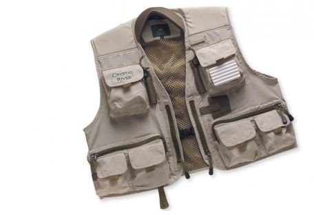 Crystal River Deluxe Fly Fishing Vest, X-Large