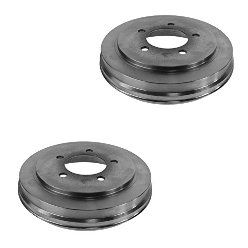 Brake Drum Rear Driver Passenger Side Pair Set of 2 for Dodge Chrysler Jeep