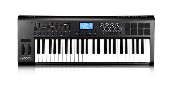 M-Audio Axiom 49 (2nd gen) 101578 - Teclado electrónico (plástico, 49 teclas, conector tipo USB), color negro: Amazon.es: Instrumentos musicales