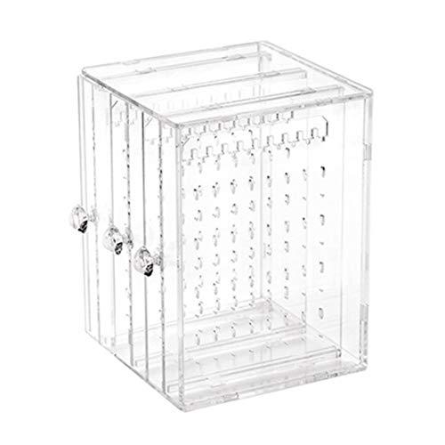 Vige Simple Design Transparent Women Jewelry Display Shelf Practical Desktop Earrings Holder Storage Rack Display