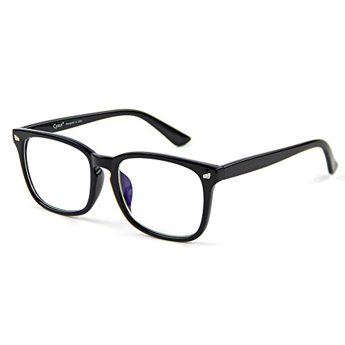 30128aeb29b Cyxus Blue Light Filter Block UV  Transparent Lens  Computer Glasses