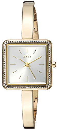 DKNY Women's 'Stonewall' Quartz Stainless Steel Casual Watch, Color:Gold-Toned (Model: NY2558)