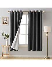 UMI. Essentials Tende Oscuranti Totale Termiche Isolanti Elegante con Occhielli 100% Poliestere per Casa Moderne