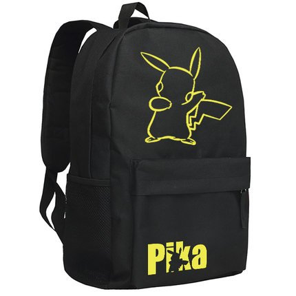 smiling-face-pikachu-printing-canvas-school-backpacks-for-teenagers-black