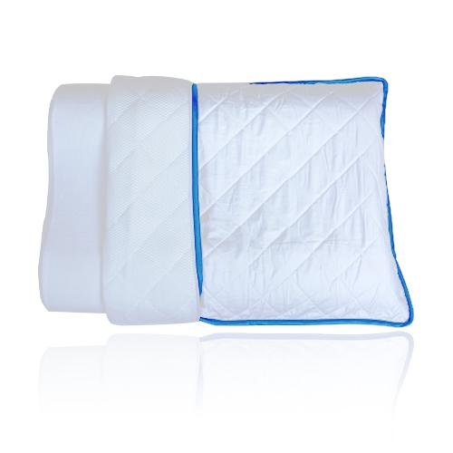 Quilted Reversible Pillow Cover Queen