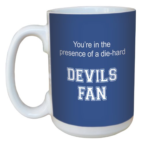 Tree-Free Greetings lm44425 Devils College Football Fan Ceramic Mug with Full-Sized Handle, 15-Ounce