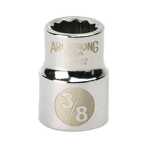 3/8 Dr. Standard Sockets - 3/8 dr socket 19/32 opg 12-pt std ()