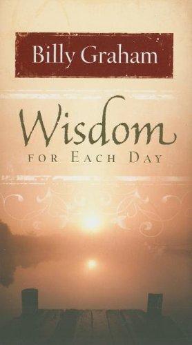 Wisdom for Each Day
