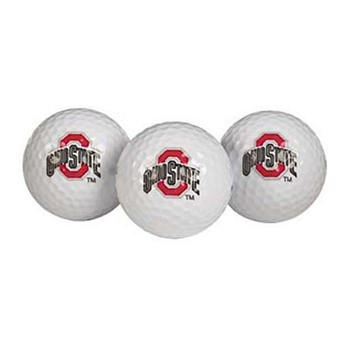 Ohio State Buckeyes Ball - Ohio State Buckeyes Golf Ball Pack of 3