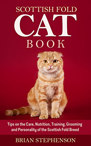 Scottish Fold Cat Book Personality ebook product image