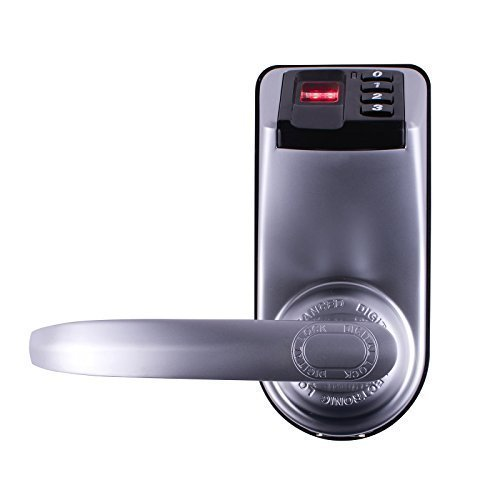 Adel 3398 Biometric Fingerprint Door Lock Touch Keypad Entry Keyless Access control