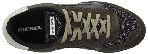 Diesel Mens Klauw Actie S-toclaws Sneaker Zwart / Asfalt