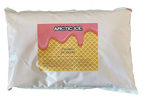 Arctic Ice Soft Serve Mix, Strawberry, 3 lb Bag