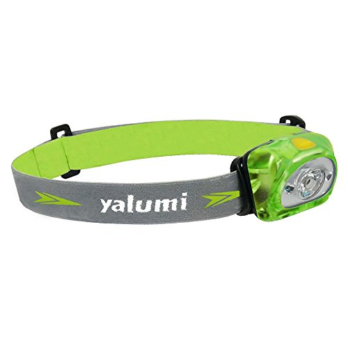 LED Headlamp yalumi 105 Lumens Spark, Lightweight; Design with Advanced Optical Quality. 1.5X Brightness, Batteries Included