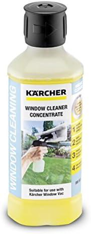 Krcher Glasreiniger concentraat RM 503 volume 05 l streepvrije reiniging van glas ramen spiegels en douchecabines