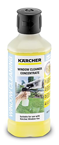 Kärcher Glasreiniger concentraat RM 503 (volume: 0,5 l, streepvrije reiniging van glas, ramen, spiegels en douchecabines…