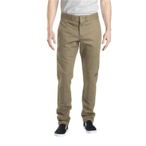 TEST Dickies The Skinny Straight Work Pants,31W x 32L,Sand