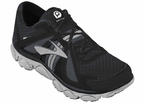 Brooks Pure Flow Chaussures pour enfant / 150003 1D 091 Couleur: Noir/Pvmnt/Argent/Whte - Noir, 30 EU