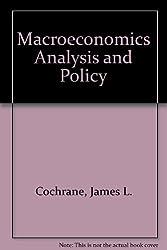 Macroeconomics Analysis and Policy
