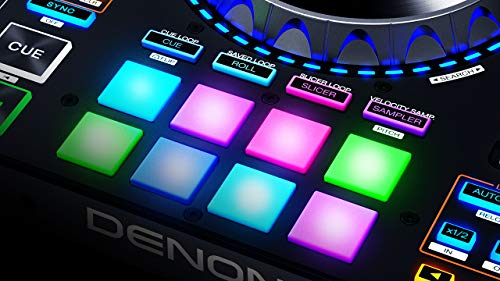 Denon DJ MC7000 | Professional DJ Controller with Dual Audio Interface for Serato DJ (Included)