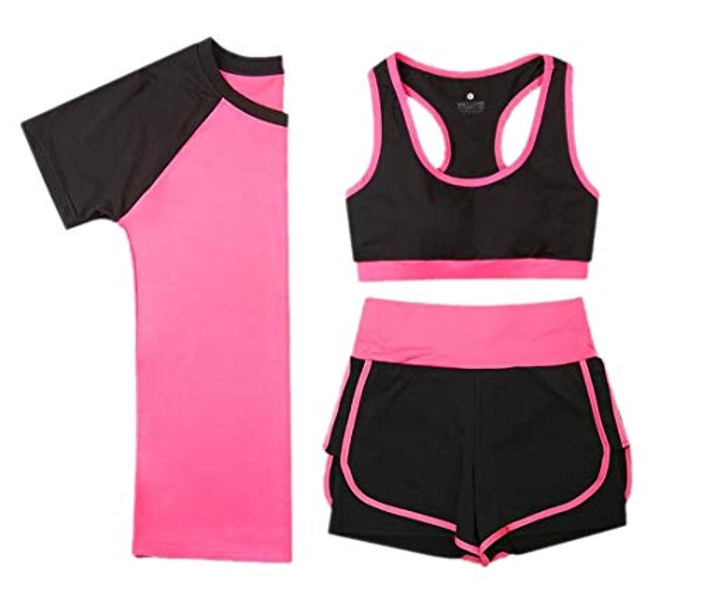 ケープコンサルタント不透明なKeaac Women Sexy Crop Top Shorts Set and T-Shirt 3 Piece Outfits Jumpsuits
