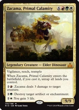 Zacama Primal Calamity