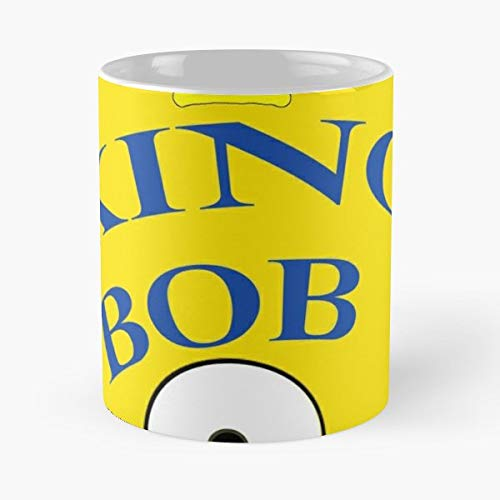 Despicable Me King Bob Yellow Movie - Coffee Mugs,handmade Funny 11oz Mug Best Holidays Gifts For Men Women Friends.]()