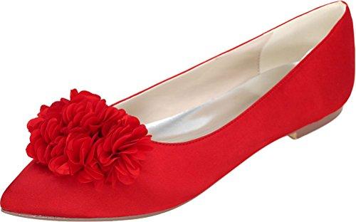 Nice Find Red Find Nice Donna Balletto Balletto Donna 0tF8Ixwxq