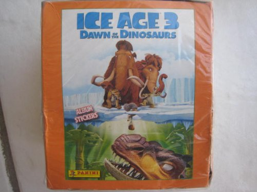 Ice 3 Stickers Age - Ice Age 3 Dawn of the Dinosaurs Panini Stickers Box 50 Packs NEW