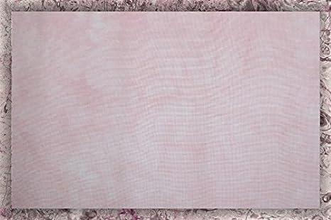 Hand-dyed 18 Count Aida Cloth (DMC/Charles Craft) - 17x19 - Blush Garibaldi' s Needle Works