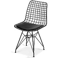 Kafes Sandalye,Tel Sandalye, Ofis sandalye, Cafe Bahçe Balkon Mutfak Sandalyesi